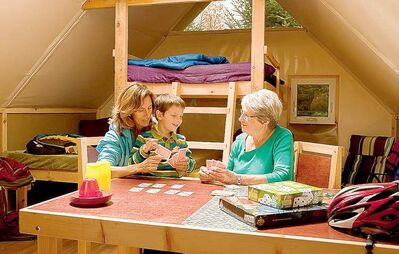 Parks Canada is developing a new type of accommodation to help families get back to nature.