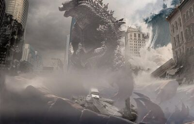 This Godzilla remake returns to a sober tone.
