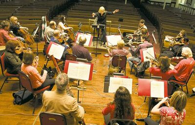 Supplied photoThe Manitoba Chamber Orchestra, led by Anne Manson, has plans to tour and record more in the future.