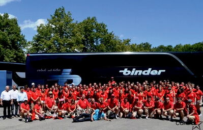 The Westwood Collegiate Band/Choral EuroTour 2012 stopped in Bavaria on July 18.