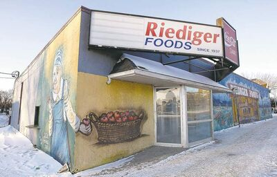 KEN GIGLIOTTI / WINNIPEG FREE PRESS archives Instead of meat and veg at Riediger Foods, Winnipeggers will be ordering double-doubles and doughnuts at Tim Hortons.