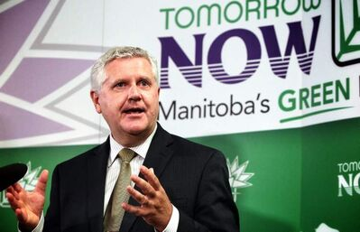 Conservation Minister Gord Mackintosh says Manitoba needs realistic short- and long-term goals to cut greenhouse gases. It never met its Kyoto targets.