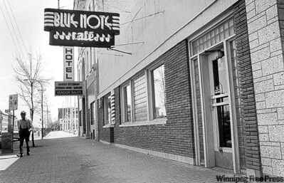 The Blue Note Café in 1989.