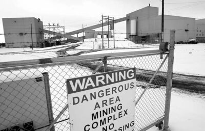 WAYNE GLOWACKI/WINNIPEG FREE PRESS archives HudBay mining complex in Snow Lake will employ hundreds but will they all be commuters?