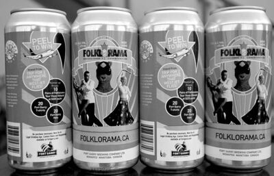 Folklorama Beer, made by Winnipeg�s Fort Garry Brewery.