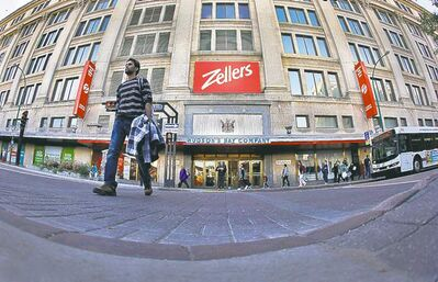 The recent closure of the Zellers store in the Bay basement contributed to the dearth of core grocers.