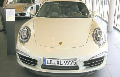 This Porsche 911 50th Anniversary Limited Edition Carrera S was in town last week.