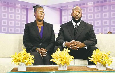The Associated PressThe parents of the late Trayvon Martin, Sybrina Fulton and Tracy Martin, on the Today show.