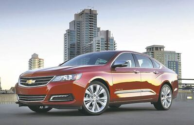 The 2014 Chevrolet Impala in July earned Consumer Reports' top overall rating among sedans.
