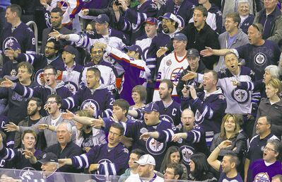Vocal Winnipeg fans love to mess with visiting teams by taunting star players and putting the hex on goaltenders.