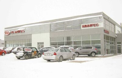 AutoTown Kia now named Winnipeg Kia.