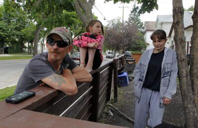 Russell Jackson and his wife Tanya Czermerynski are trying to discourage the sex trade in their neighbourhood to protect their 11-year-old daughter, Mary Joe Jackson.