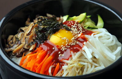 Bimbimbap at Kiwa