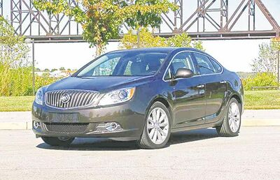 Buick's Verano is a small luxury sedan at a good price.