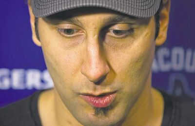 Darryl Dyck / the canadian press archivesVancouver Canucks� goalie Roberto Luongo expects a mixed reaction from fans.