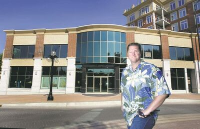 WAYNE GLOWACKI / WINNIPEG FREE PRESSNoel Bernier plans to open a new Brazilian steak house and a smaller restaurant/lounge on the first and second floors of the Excelsior at the corner of Waterfront Drive and Bannatyne Avenue.