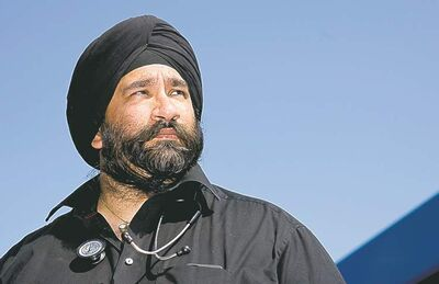 Dr. Sanjeet Singh Saluja says the PQ's controversial 'Charter of Quebec Values' would drive people from the Sikh, Jewish and Muslim communities away.