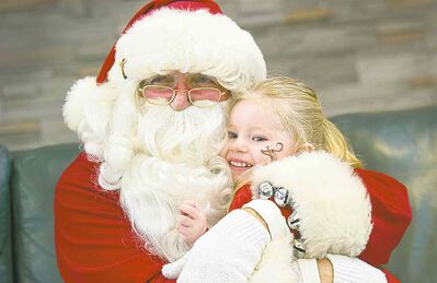 Wayne Johnson has filled in for Santa at functions around Winnipeg since 1971.