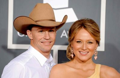 Jewel and husband  Ty Murray.