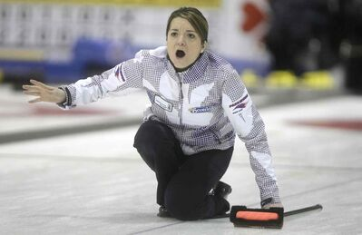 Kerri Einarson has been magical in Virden this week, running her record to 8-0 Saturday night with a beautiful shot in the 10th end.