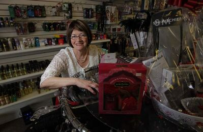 Linda Proulx, owner of the Love Nest.
