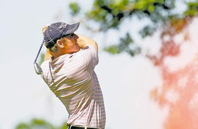Wil Collins, who is No. 2 on the PGA Tour Canada money list, was 5-under Thursday and in good position to challenge for his second win of the season.