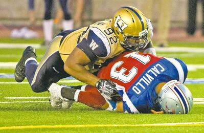 Injured Blue Bombers defensive tackle Bryant Turner says his team needs him more than he needs time to heal. He will play against the Stampeders on Friday.