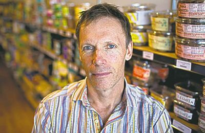 Pirate Joe's owner Michael Hallatt is being sued by U.S. grocer Trader Joe's.