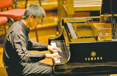 Albert Chen was a runner-up in the Aikins Memorial Trophy competition.