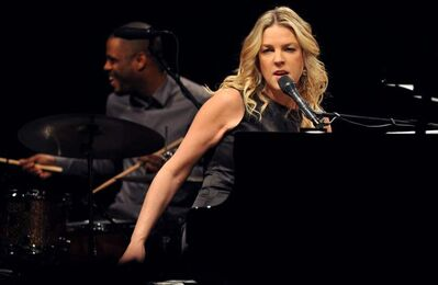 Canadian jazz pianist and singer Diana Krall delved into Tin Pan Alley tunes from the 1920s and '30s in preparation for her new album, Glad Rag Doll.