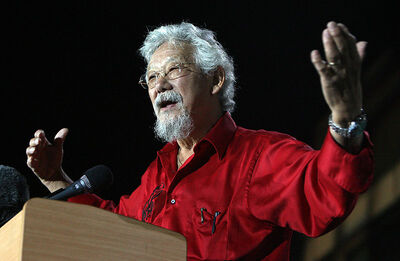 David Suzuki will speak in WInnipeg as part of a tour discussing how Canada can achieve a sustainable future.