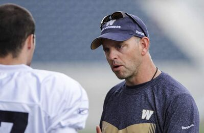 Special teams coach Craig Dickenson left the Roughriders for balanced life.
