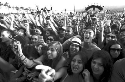 Luis Sinco / the associated press Fans react as Abel  Tesfaye, a.k.a. The Weeknd, takes the stage at the Coachella Music and Arts Festival in Indio last year.