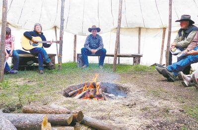 Campfire songs are part of the actual camping experience.