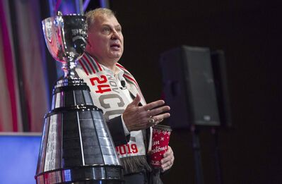 Canadian Football League commissioner Randy Ambrosie. (Todd Korol / The Canadian Press files)</p>