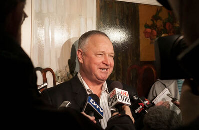 Leafs head coach Randy Carlyle is back in Winnipeg today, a place where he played and coached for 18 years.