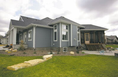Assiniboine Landing boasts some of the most luxurious homes in the area.