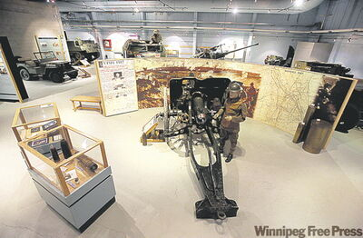 Bruce Bumstead / Brandon Sun  First and Second World War guns and vehicles provide window on the past.