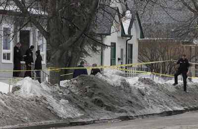 A teenage boy was rushed to hospital in critical condition after being shot this afternoon.  Police officers remain on the scene of the shooting in the 600 block of Manitoba Avenue. No arrests have been made.