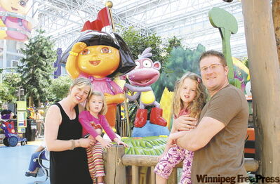 The family experience at the Nickelodeon Universe is as good as it gets.