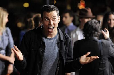 Steve-O poses at the premiere of 'Jackass 3D' in Los Angeles in October 2010.