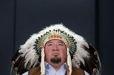 Derek Nepinak from Pine Creek First Nation is the incumbent Grand Chief of the Assembly of Manitoba Chiefs.