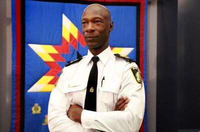 New Winnipeg Police Chief Devon Clunis