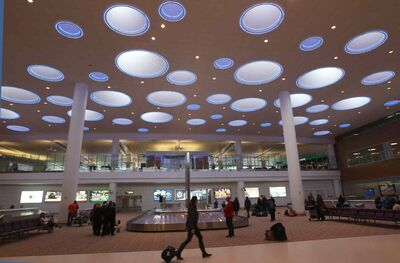 James Richardson International Airport may have a cold winter to thank for increased passenger volumes int he first three months of 2014.