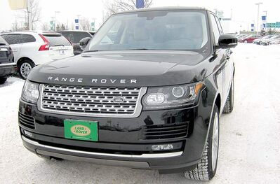 Land Rover's Range Rover has been completely redesigned both inside and out for 2013.