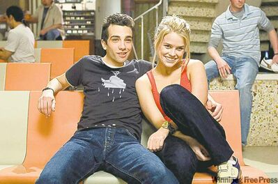 Baruchel and Eve in She's Out Of My League.