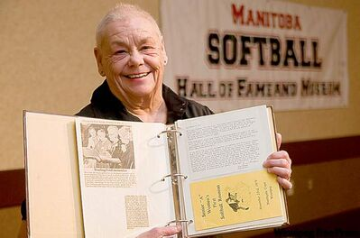June Graham has an album's worth of memories from her illustrious softball career.
