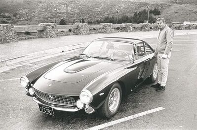 Older Ferraris, such as this 1963 Ferrari 250 GT Berlinetta Lusso, once owned and driven by actor Steve McQueen, had proper gear shifters, unlike current Ferraris that change gears by the flip of an electronic paddle shifter.