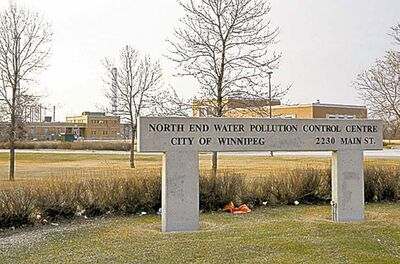 North End plant: 205 tonnes of phosporus in 2011