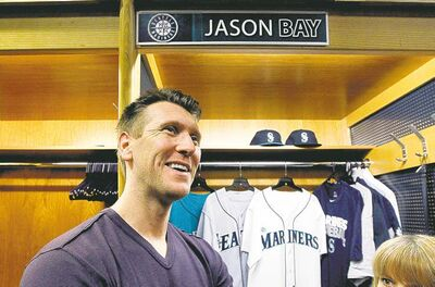 Elaine Thompson / The Associated PressJason Bay didn�t get the $66-million contract that he received from the Mets a few years ago but after several injury-plagued seasons, the outfielder is ready to do whatever is asked of him in Seattle.